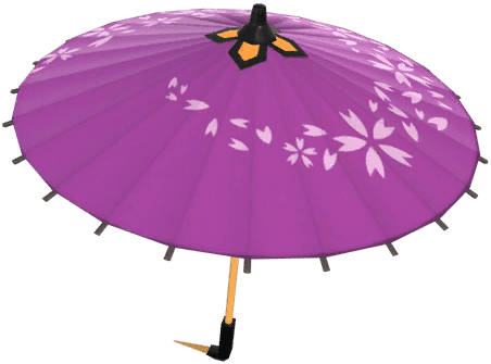 Purple Oilpaper Umbrella